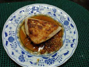 カジキマグロのステーキ